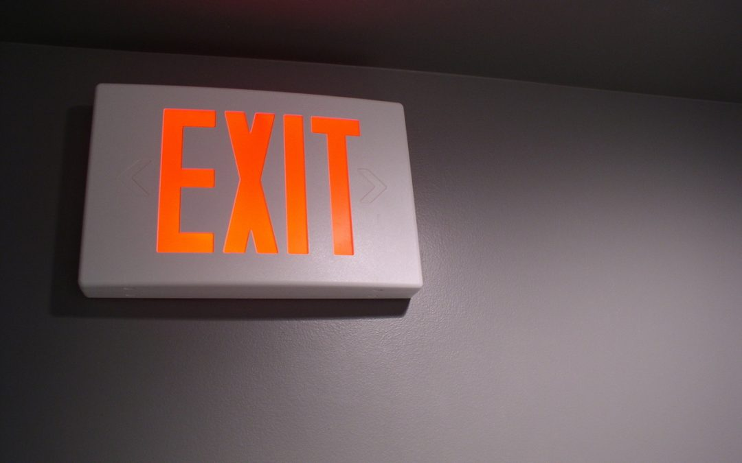 What To Do When Your Emergency Exit Lights Burn Out