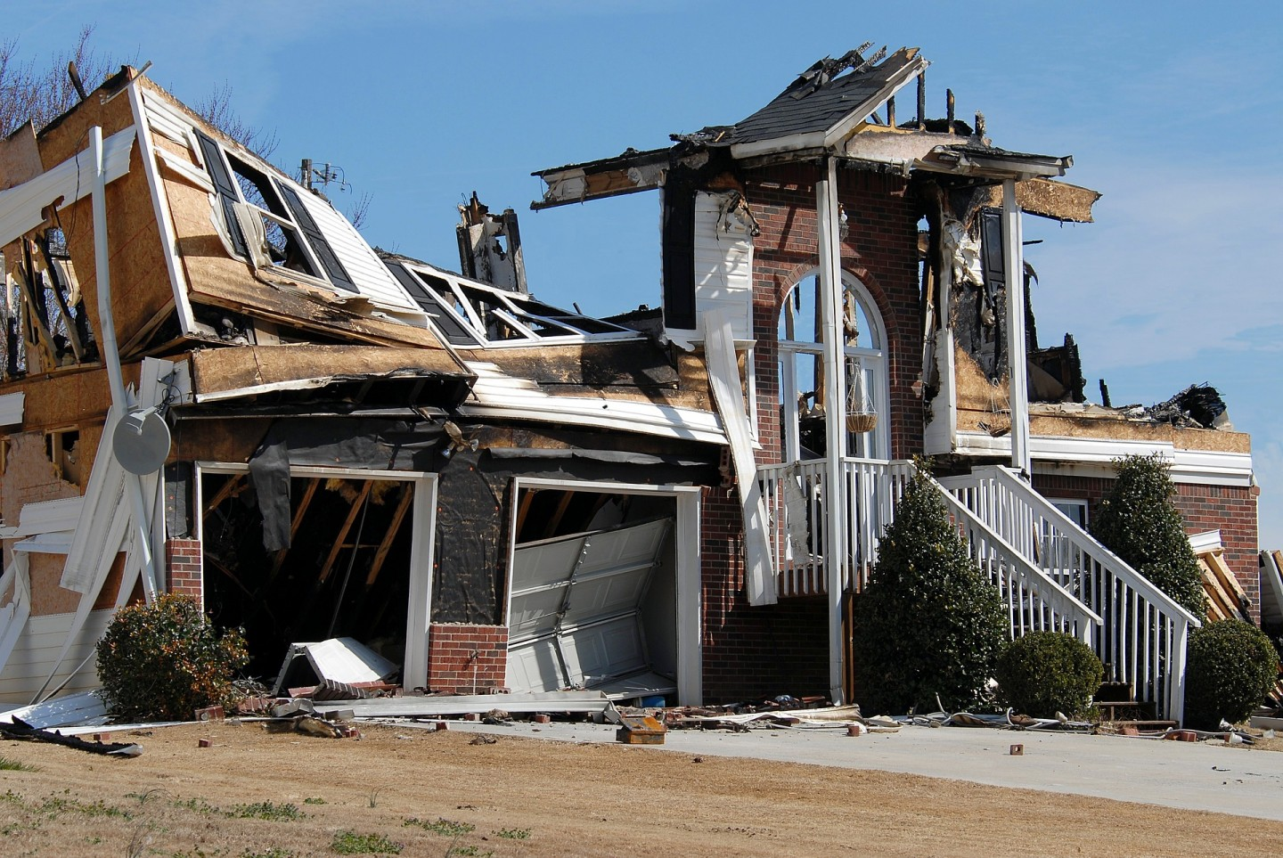 fire damage insurance claim