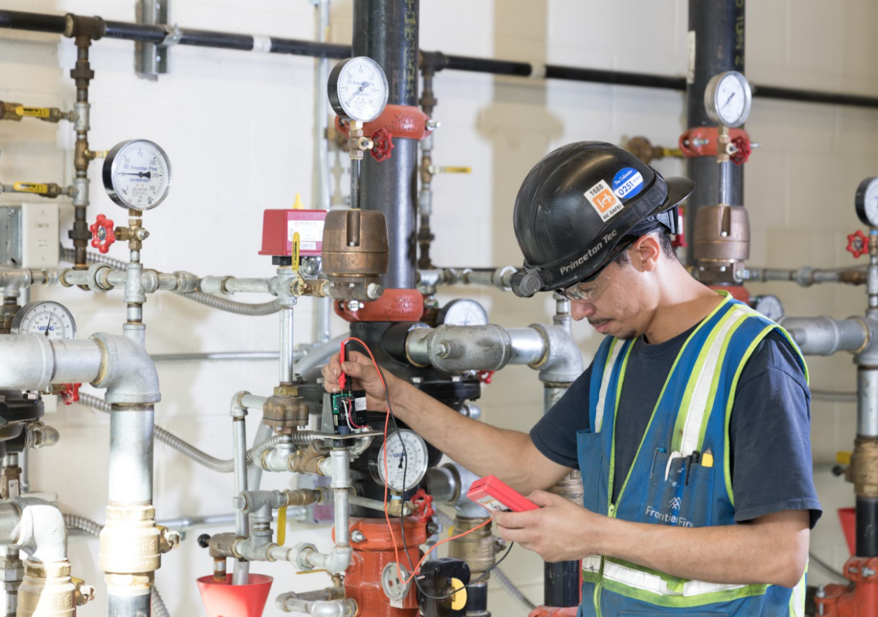 fire pump maintenance program