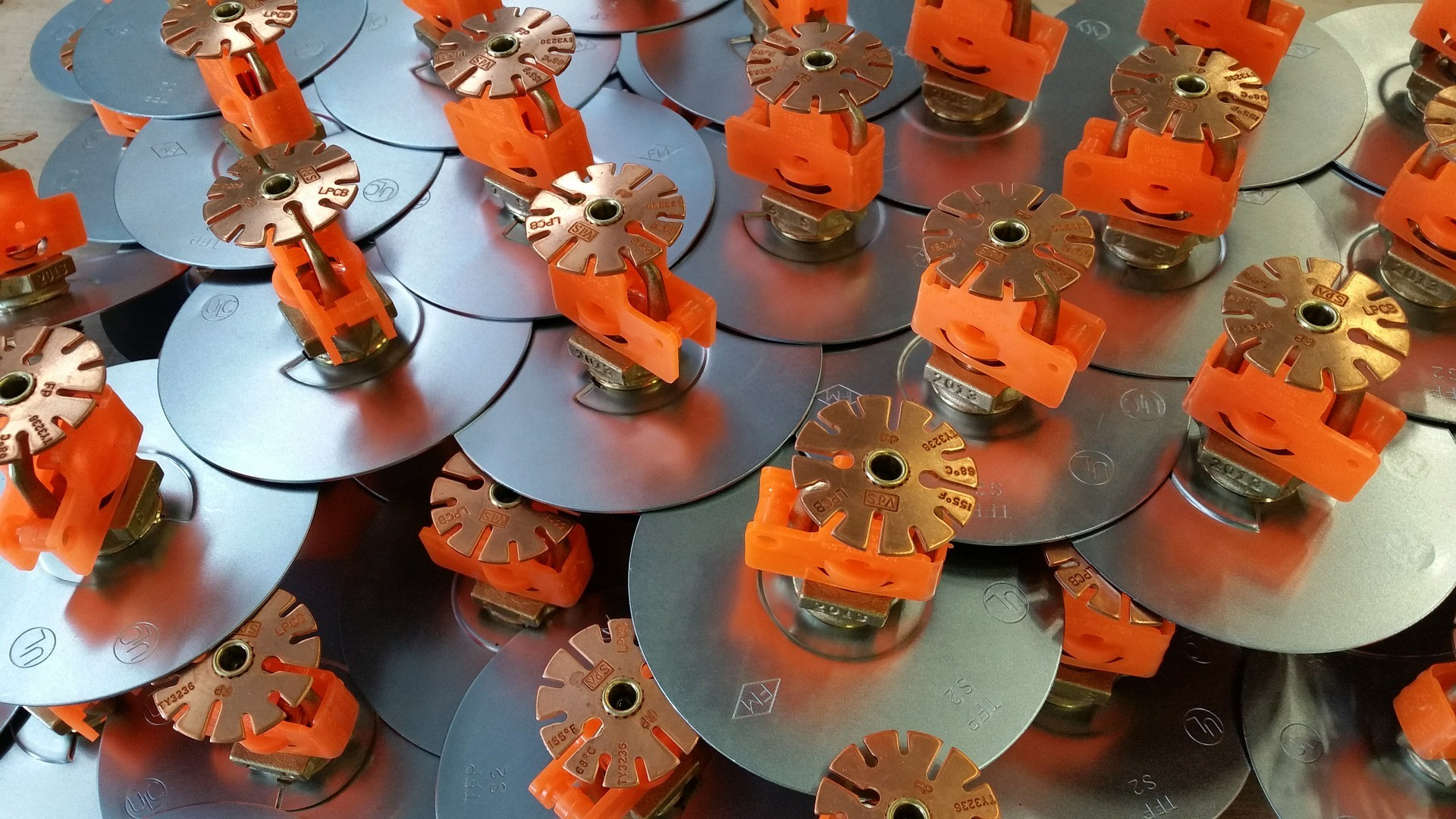 types of sprinkler heads for fire protection