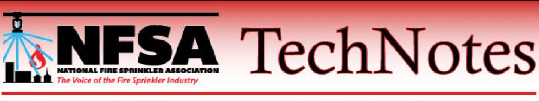 NFSA TechNotes